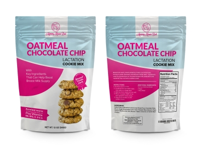 Mommy Knows Best Oatmeal Chocolate Chip Lactation Cookies Mix