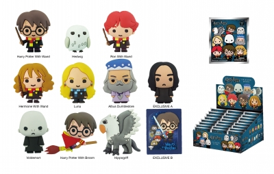 Harry Potter Series 3 - 3D Figural Key Ring Blind Bag
