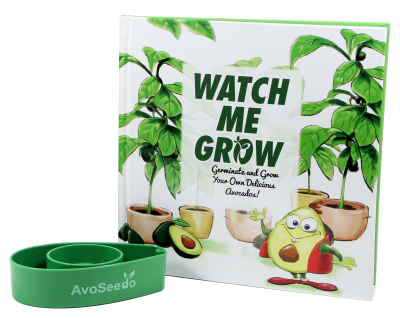 AvoSeedo - Grow your own Avocado Tree - Children book Set
