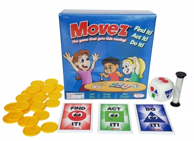 Movez! The game that gets kids moving!