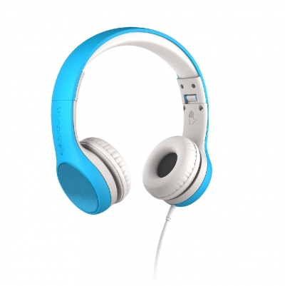 LilGadgets Connect+ STYLE Volume Limited Children's Wired Headphones with SharePort