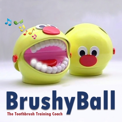 BrushyBall - The Toothbrush Coach