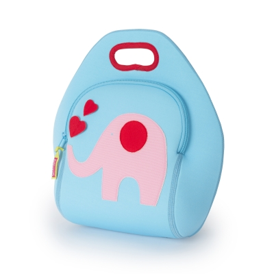Trunk Show Elephant Lunch Bag