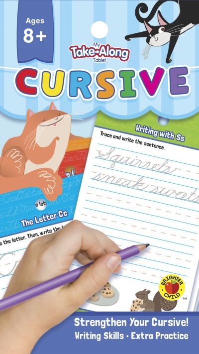 My Take-Along Tablet: Cursive Activity Pad