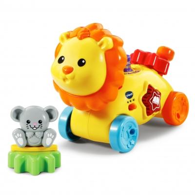 GearZooz GearBuddies Lion & Mouse