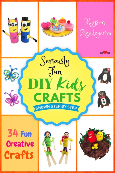Seriously Fun DIY Kids Crafts eBook