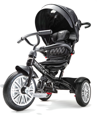 The Bentley 6-In-1 Convertible Stroller/Trike
