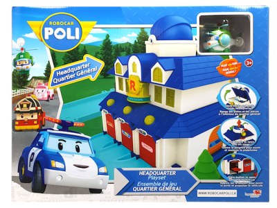 Robocar Poli Headquarter Playset