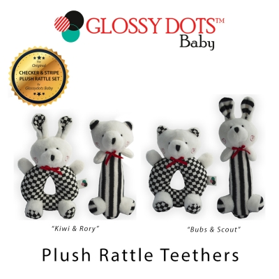 Plush Rattle Teethers