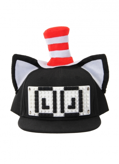 Dr. Seuss Cat in the Hat Bricky Blocks Build-On Snapback Kit