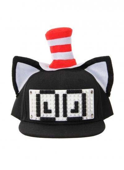 Dr. Seuss Cat in the Hat Bricky Blocks Build-On Snapback Kit
