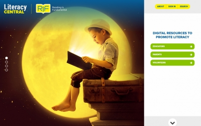 Reading is Fundamental Literacy Central
