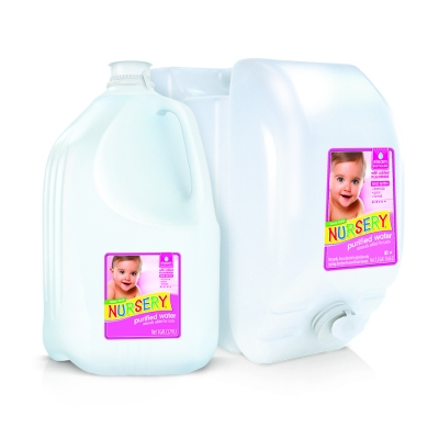 Nursery Water with added fluoride