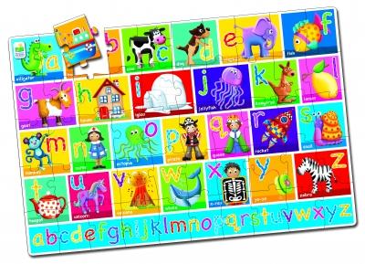 Jumbo Floor Puzzle Alphabet