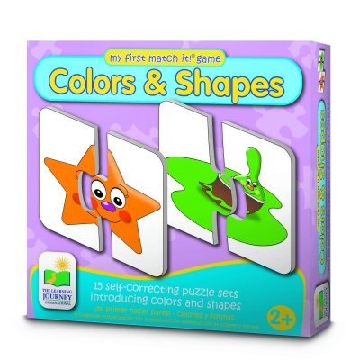 My First Match It! Colors & Shapes