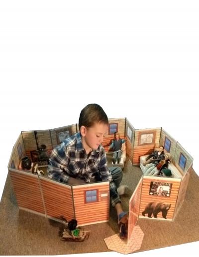 ALLWALLS PLAYSETS-Cabin