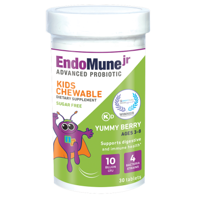 EndoMune Jr Probiotic for Kids Chewable