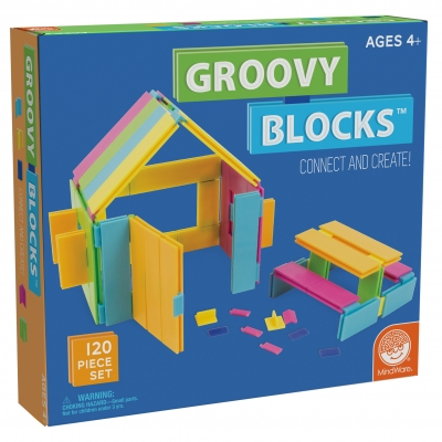 Groovy Blocks: 120 Piece Set