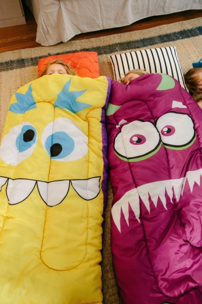 Sparky The Friendly Monster Sleeping Bag | Item 20307