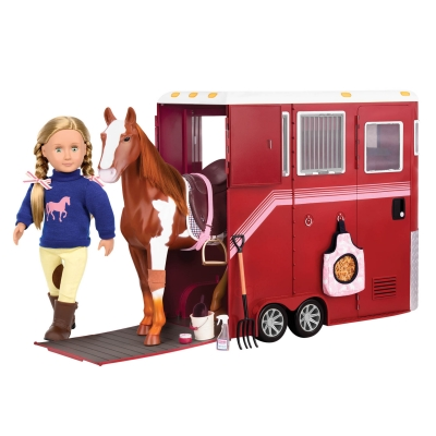 Mane Attraction Horse Trailer