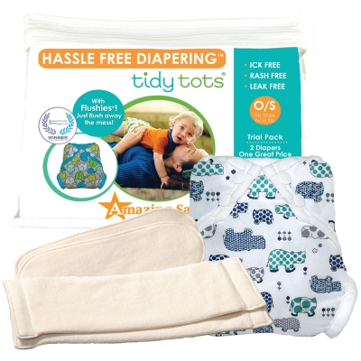 Tidy Tots 2 Diaper Trial Set