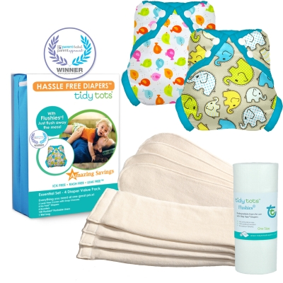 Tidy Tots 4 Diaper Essential Set