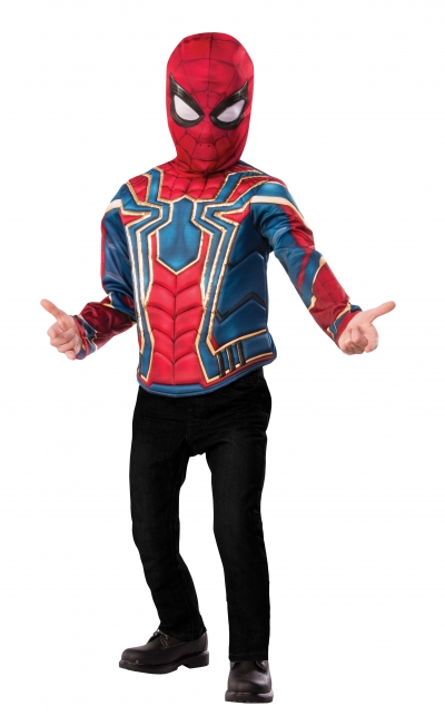 DELUXE  IRON SPIDER COSTUME TOP