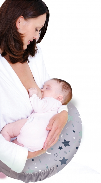 Nai-B Inflatable Baby Nursing Pillow (Feeding Cushion)