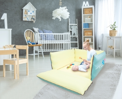 Nai-B K Versatile Portable Bed  & Playard Mattress