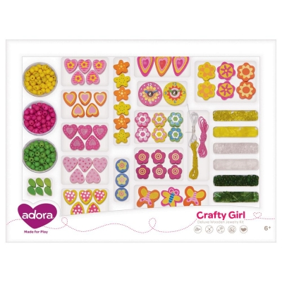 Adora Crafty Girls Deluxe Wooden Jewelry Kit