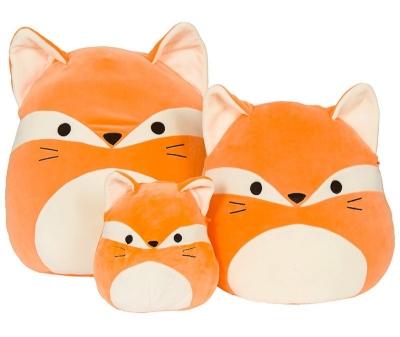 Squishmallows - 3 sizes Fox, Cat