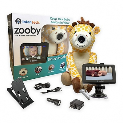 zooby Wifi Car and Home Monitor