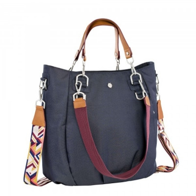 Green Label Mix 'n Match Diaper Bag - Denim Blue