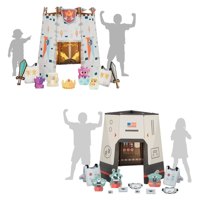Sharingland Space Odyssey and Epic Castle Playhouse Kits