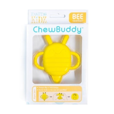 Hashtag Kidz ChewBuddy Bee Teether