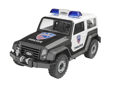 Revell Junior Kit Police Off-Road Vehicle
