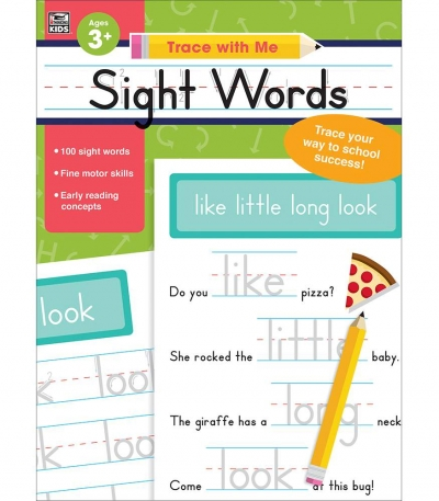 Trace with Me: Sight Words
