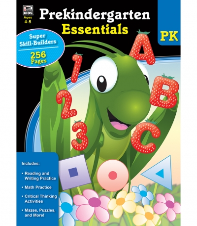 Prekindergarten Essentials Workbook