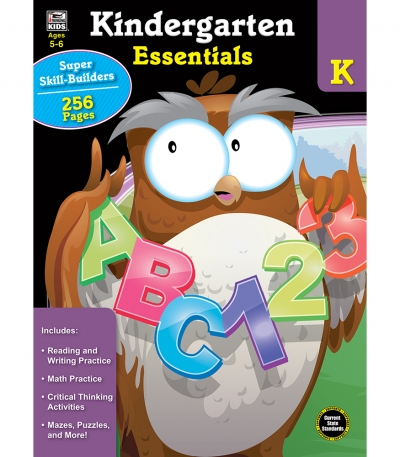 Kindergarten Essentials Workbook