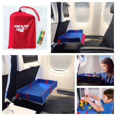 Fun N' Fly Foldable Travel Tray