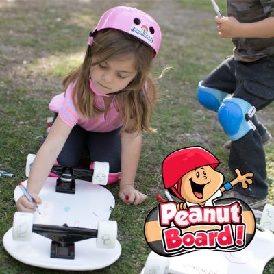 PeanutBoard - The Activity Skateboard for Kids