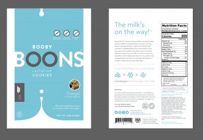 Booby Boons Lactation Cookies: Cowgal (Trail Mix)