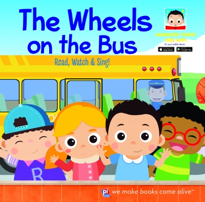 The Wheels On The Bus Animated Video Book