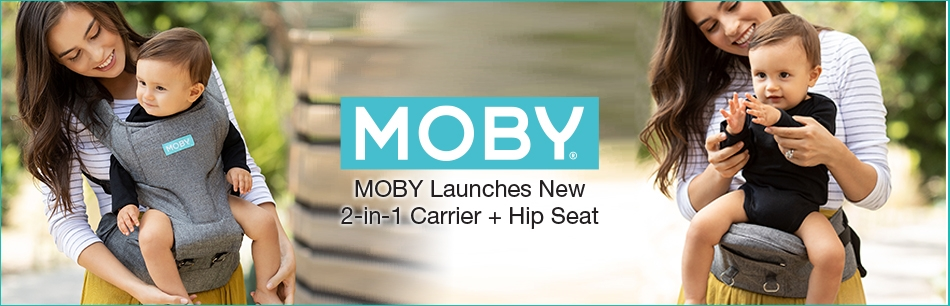 MOBY Introduces Their New 2-in-1 Carrier + Hipseat