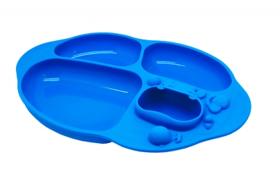 Marcus & Marcus Yummy Dip Suction Divided Plate