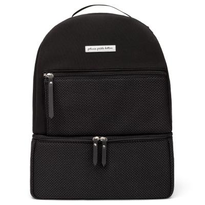 Axis Backpack in Black Neoprene