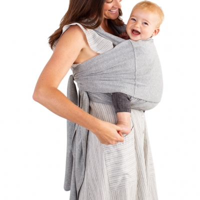 MOBY Fit Hybrid Carrier in Heather Grey
