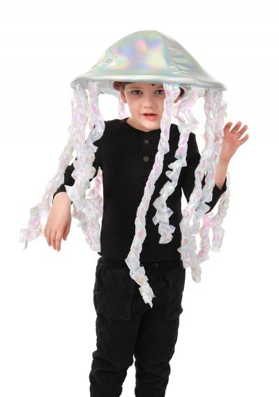 elope Holographic Jellyfish Plush Hat