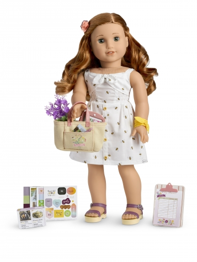 2019 Girl of the Year Blaire doll, book & accessories