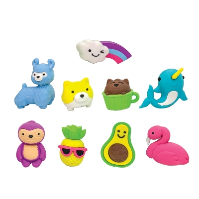 Totally Adorkable Erasers